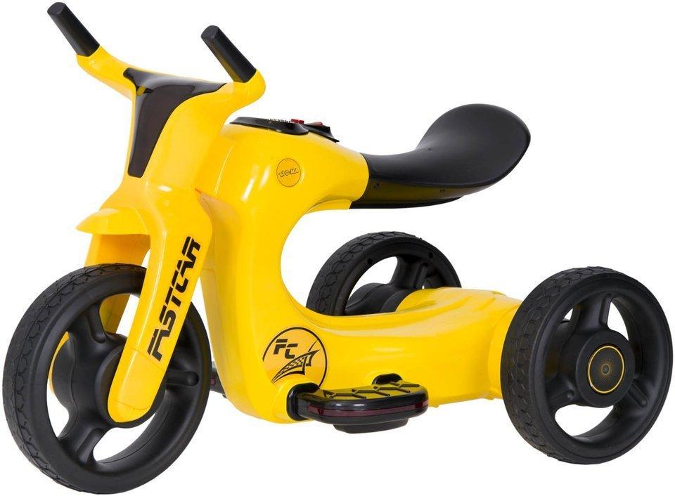 rowerek trójkołowy SW168 - ŻÓŁTY