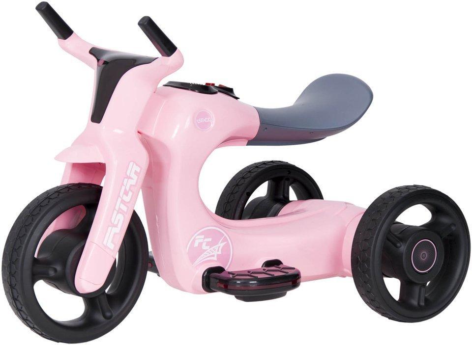 rowerek trójkołowy SW168 - RÓŻOWY