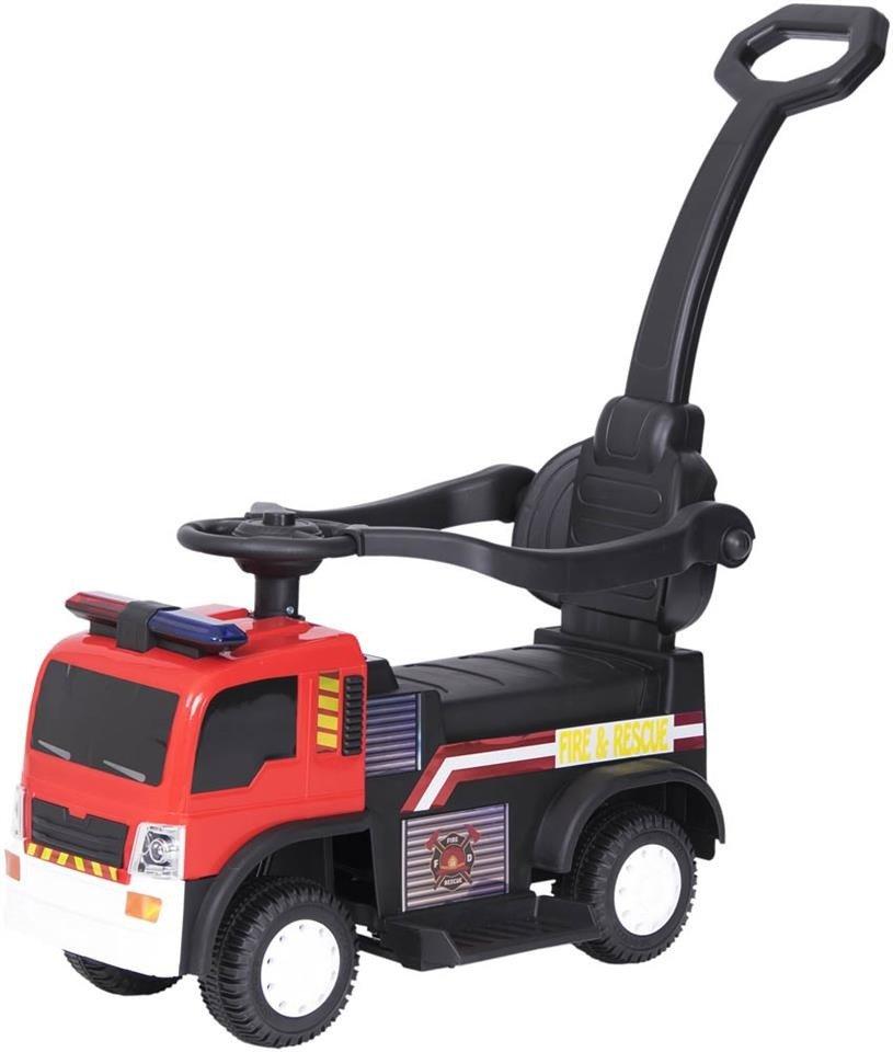 jeździk straż pożarna - czerwony