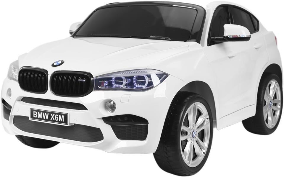 samochód BMW X6M - BIAŁY