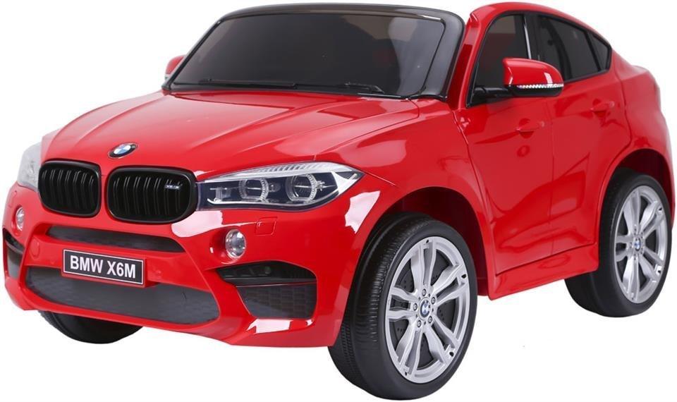 samochód BMW X6M - CZERWONY