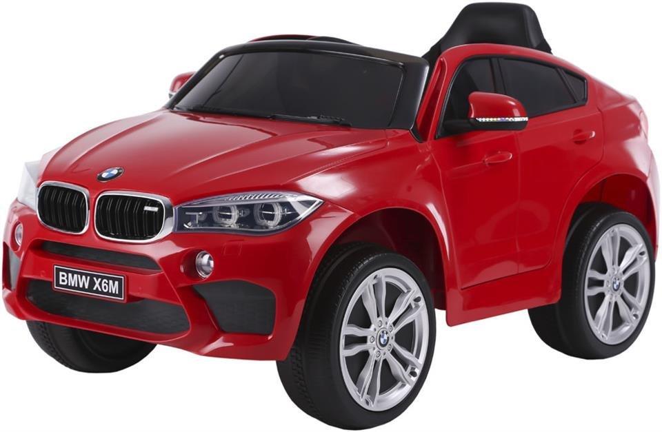 Pojazd elektryczny BMW X6M - CZERWONY (LICENCJA)