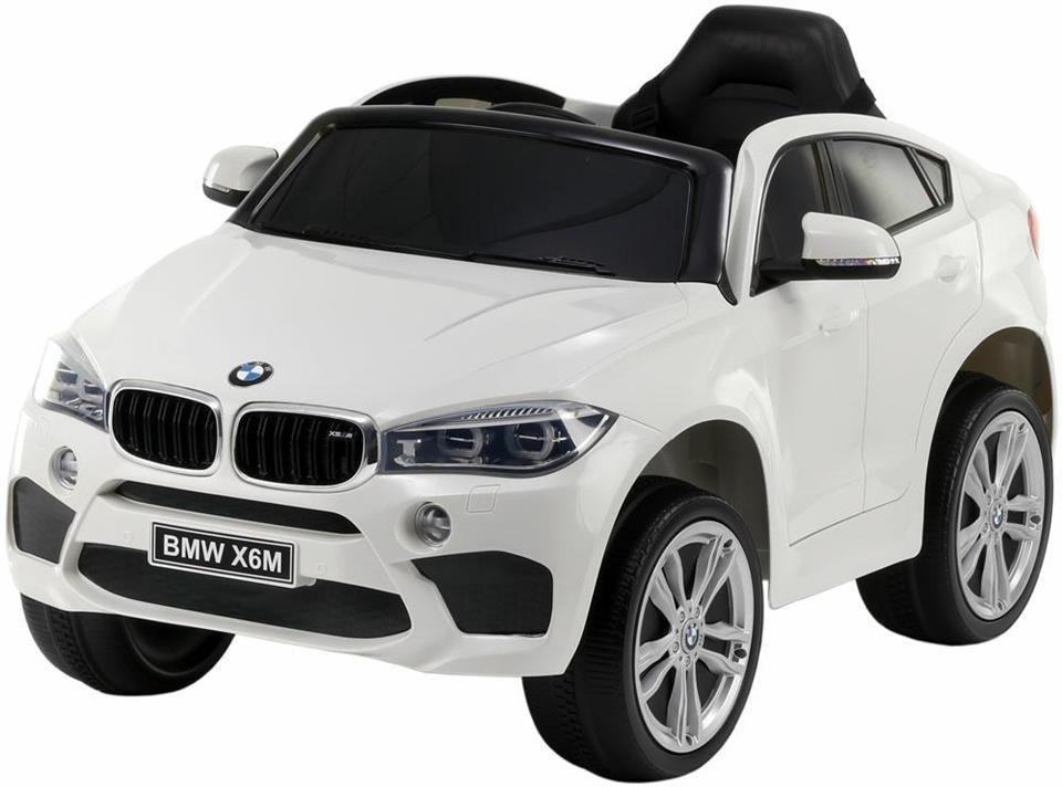 Pojazd elektryczny BMW X6M - BIAŁY (LICENCJA)