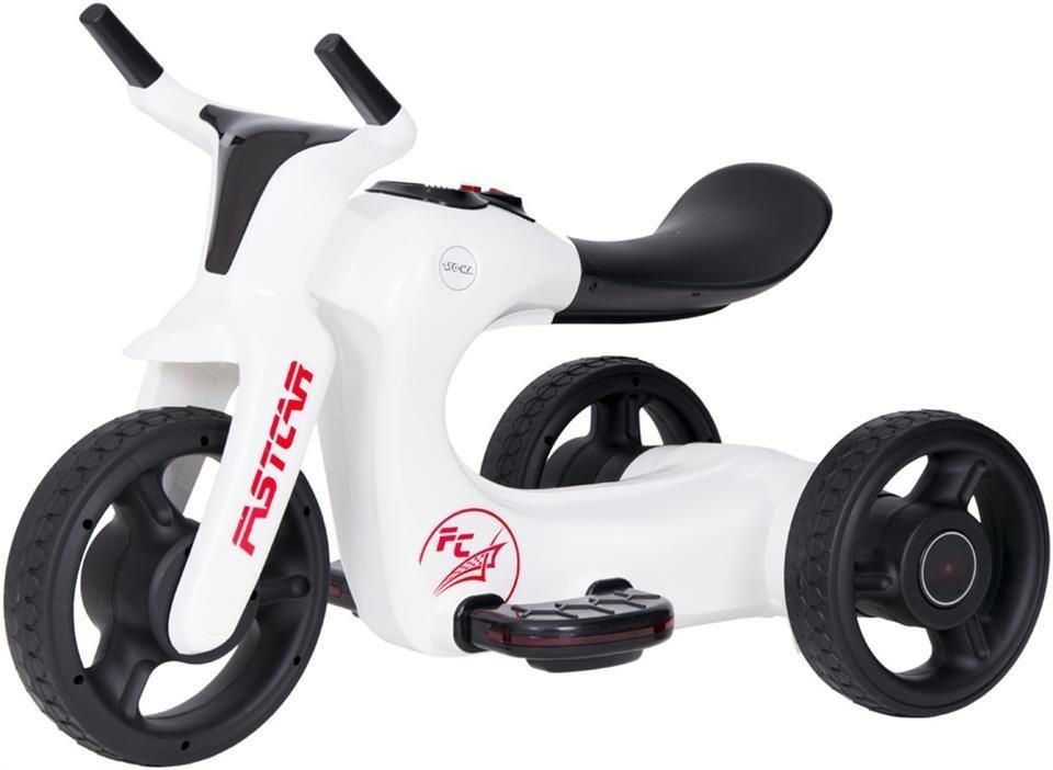 rowerek trójkołowy SW168 - BIAŁY