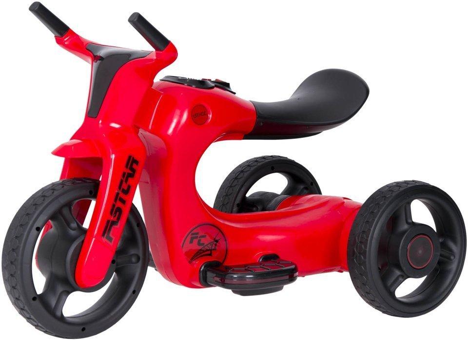 rowerek trójkołowy SW168 - CZERWONY